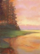 Lynx Color by Western pastel landscape artist Don Rantz