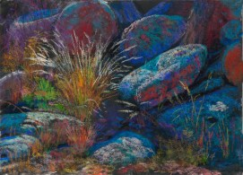 Shadow Color by Western pastel landscape artist Don Rantz
