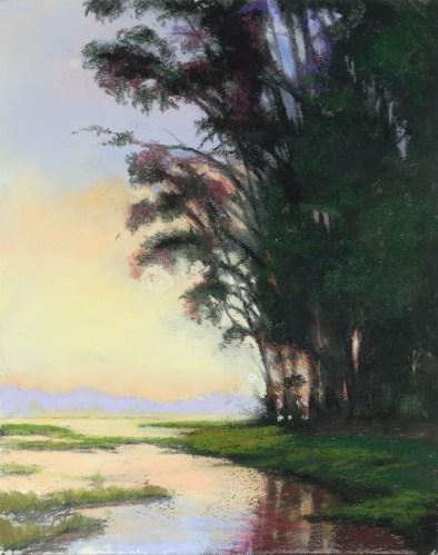Willow Color by Western pastel landscape artist Don Rantz