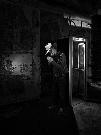 Cowboy & Phone Booth
