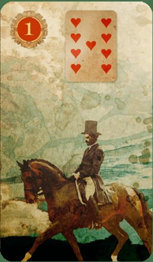 tarot on line o cavalheiro