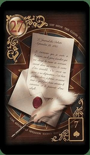 carta da semna tarot online