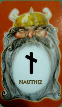 Runa 10 - Nauthiz (Restrição) - 07/06/2021 carta da semana
