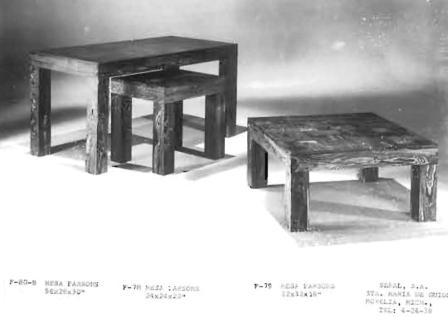 The versatile Parsons Line – Tables for table freaks