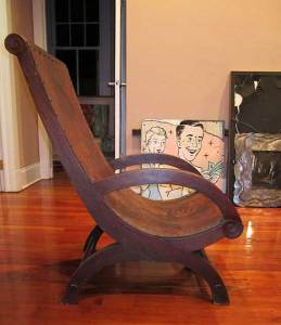 Butaca Chair designed by Héctor Aguilar