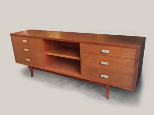 Credenza from the Frank Kyle gallery with Pepe Mendoza pulls