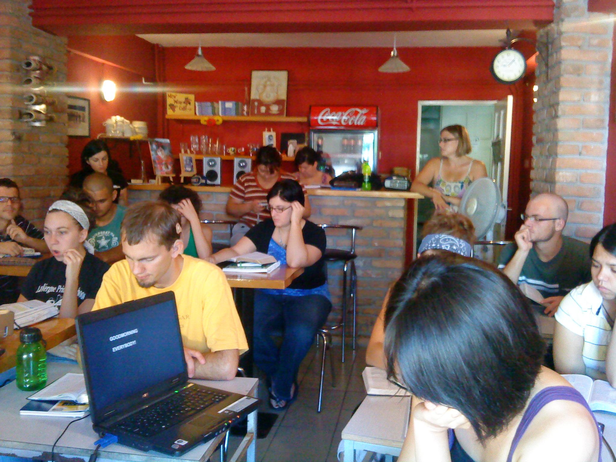 The YWAM Cafe in Constanza, Romania
