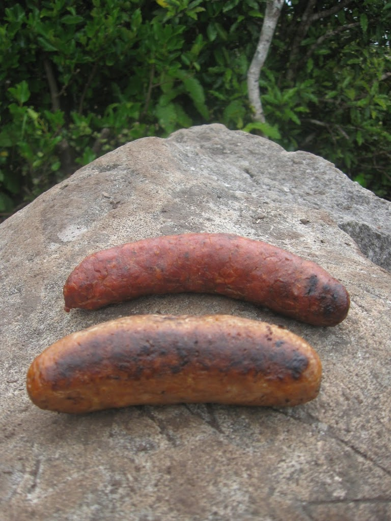 Mt Karioi and chorizo