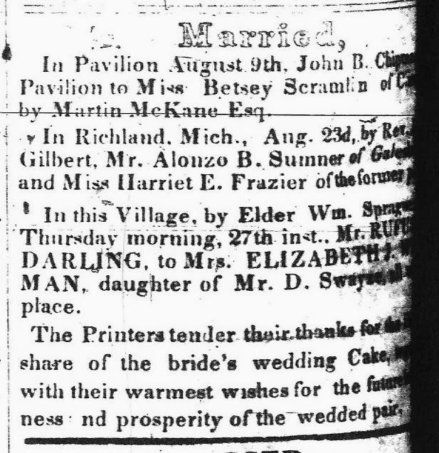 52 Ancestors: #1 – Elizabeth Jane Swayze Wisemen Darling