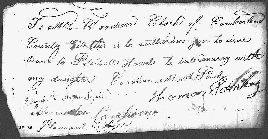Census Fact vs. Residence Fact — Caroline M. A. Pankey Howell (1811-?)