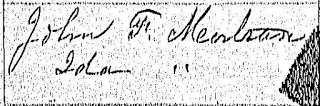 John F. Montran & Ida in Birth Registry entry for Madonna Montran, 1893