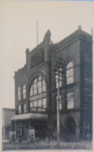 Grand Opera House, Canton, Ohio Source: www.garrisonhouseephemera.com