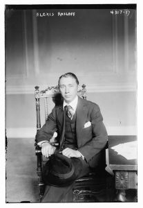 Photo of Alexis Kosloff 1917.