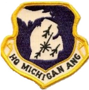 Emblem of the Michigan Air National Guard
