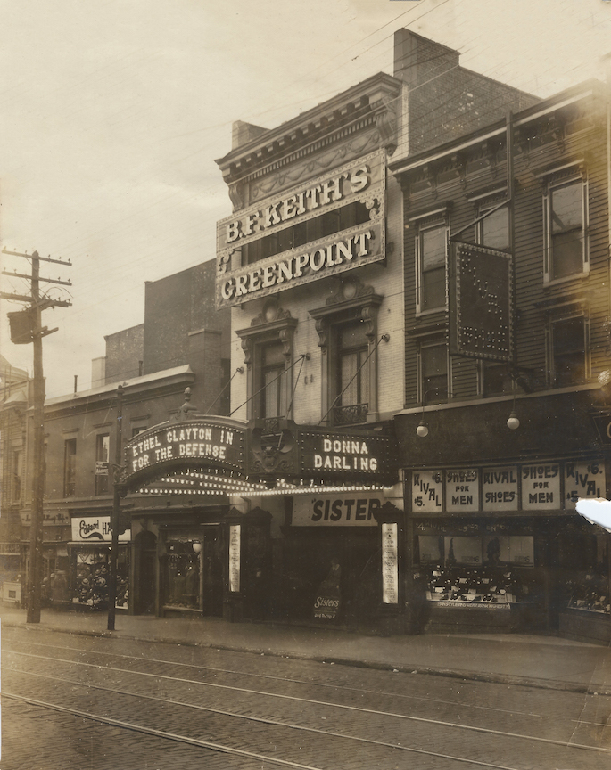 Photo of B.F. Keith's Greenpoint - Donna Darling - May 1922