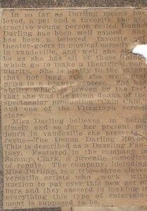 Image of Article about Donna Darlings show in Savannah