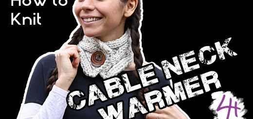 How To Knit Neck Warmer Lydia Hawk Designs