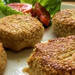 Falafelly Good Chickpea and Chorizo Burgers
