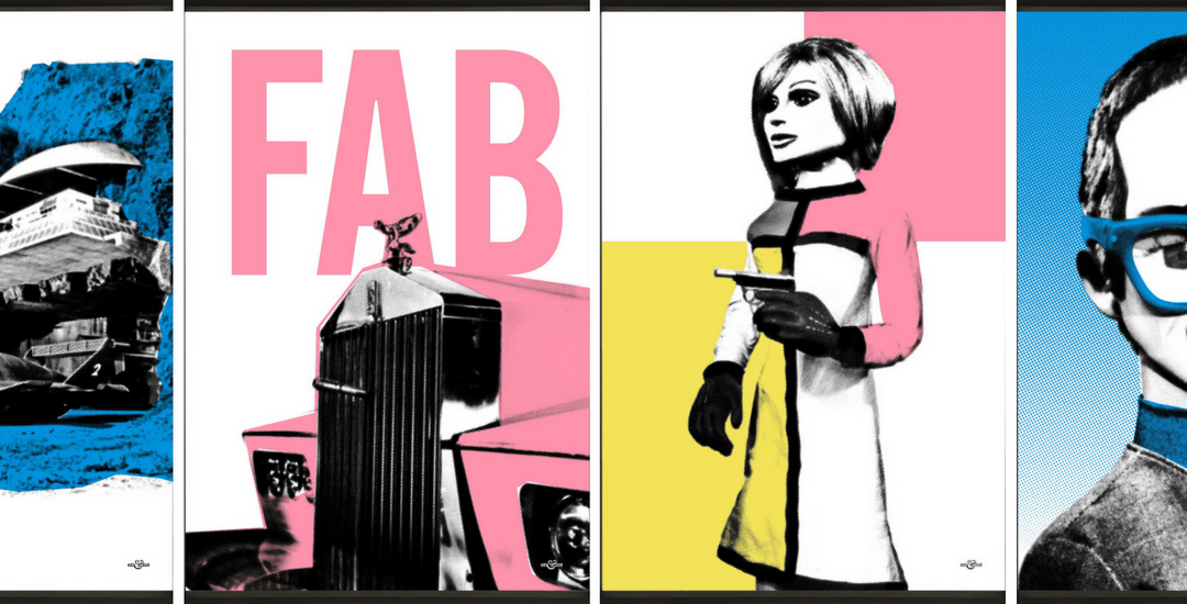 New 60's Pop Art : Thunderbirds Are Go!