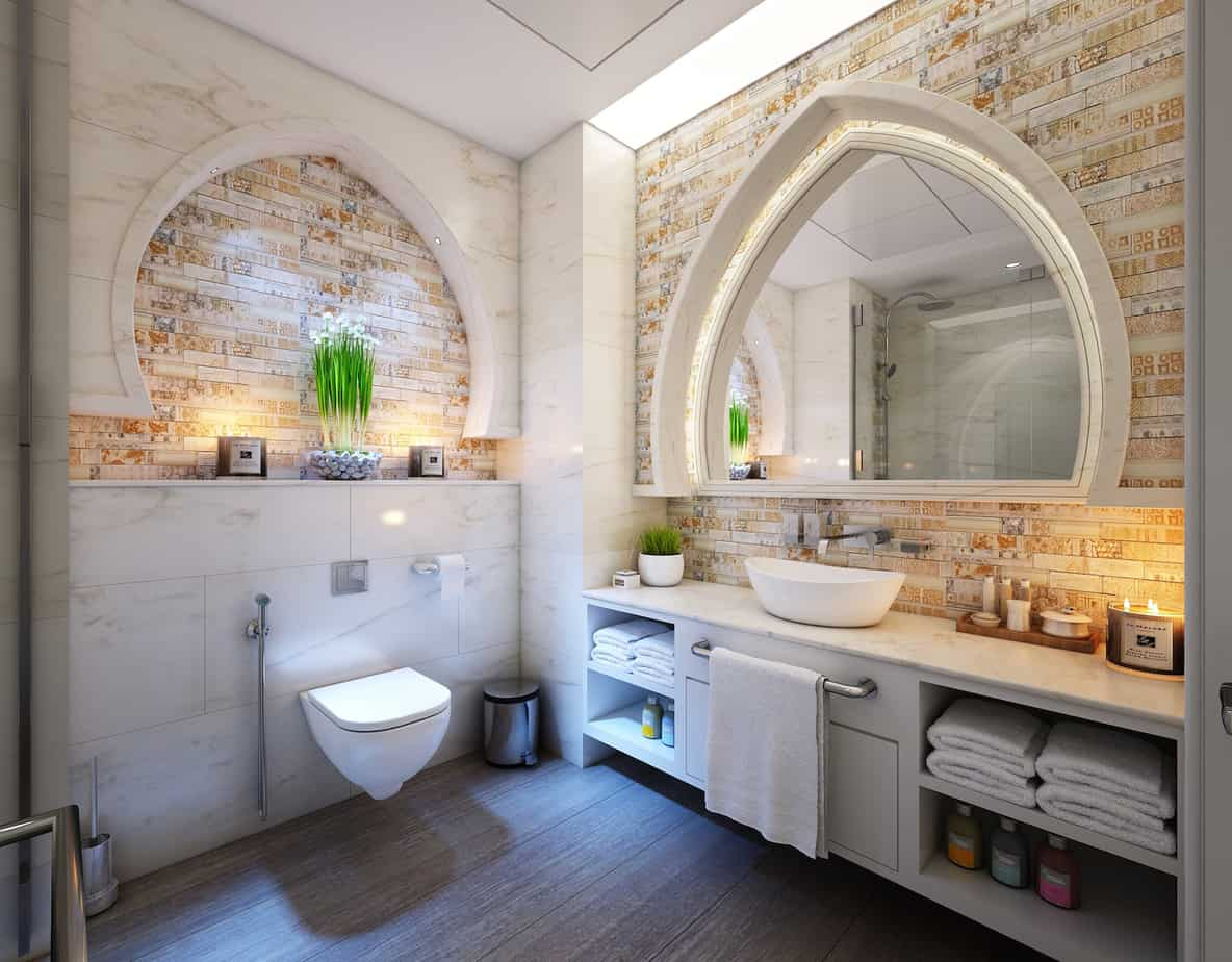 Wonderful Dream Bathroom Renovation