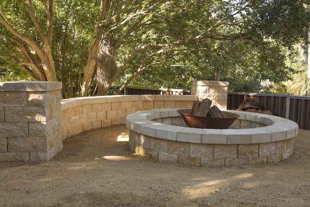 Build your own courtyard firepit a step by step guide for Build your own house step by step