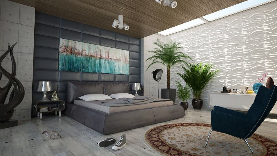 bedroom luxe