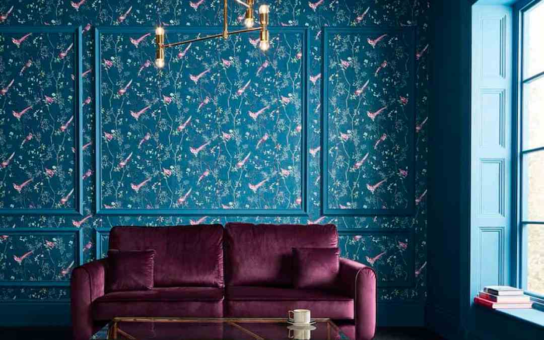 New Product: Tori Japanese Wallpaper