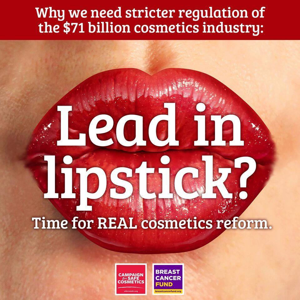 Lead in Lipstick