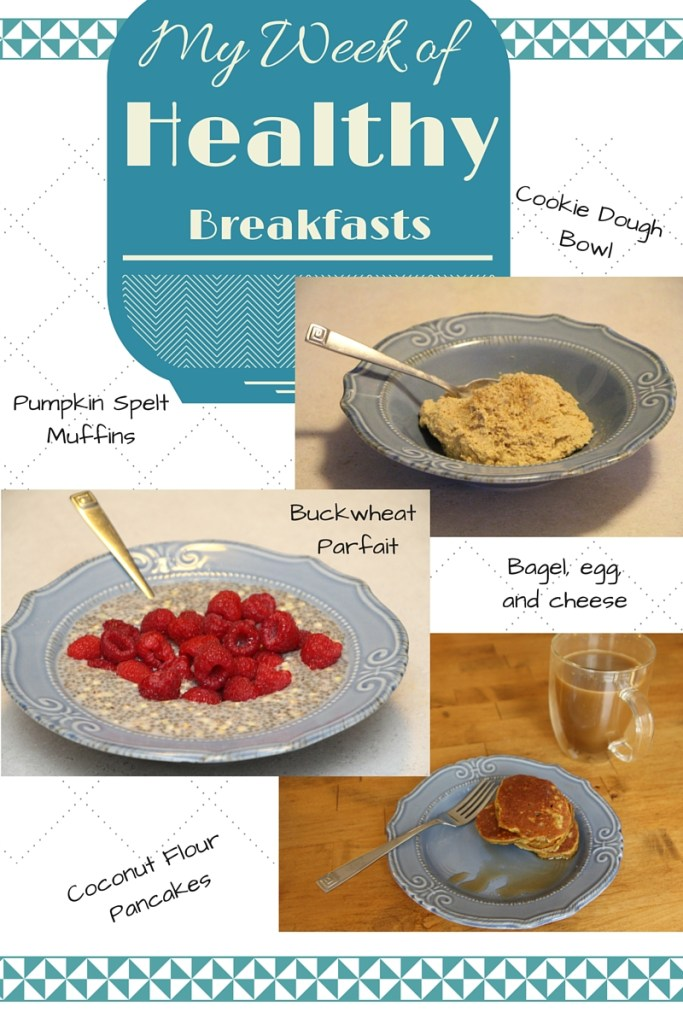 My Week of Healthy Breakfasts