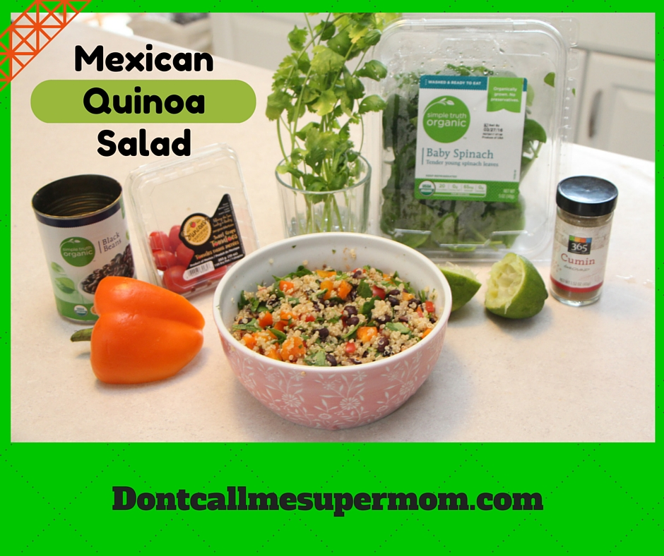 A Mexican Twist on Tabbouleh