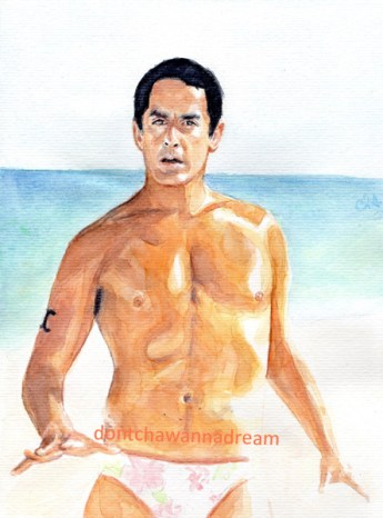 Scrubs - Tanned Todd