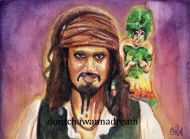 HIMYM - Marshall as Jack Sparrow