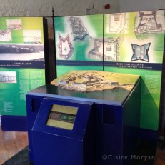 Fort Model. Charles Fort. Image: Claire Moryan