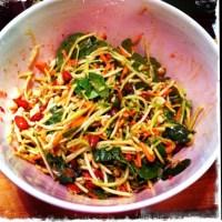 Vegan MOFO Day 3: Wasabi Broccoli Slaw
