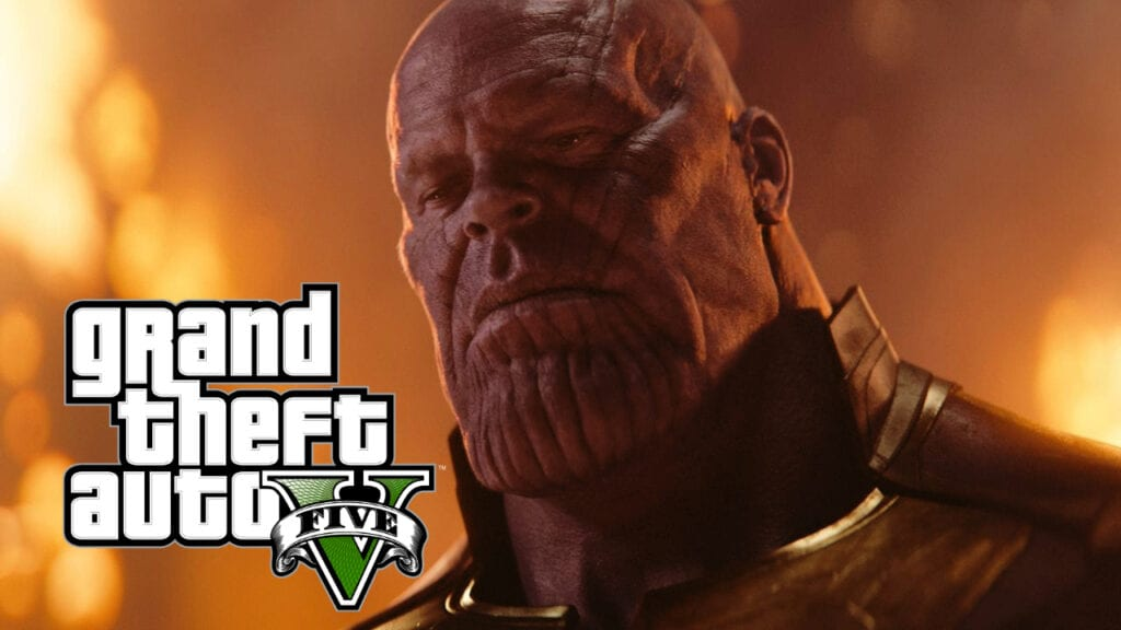 GTA 5 Thanos Mod Gives You The Power Of The Infinity