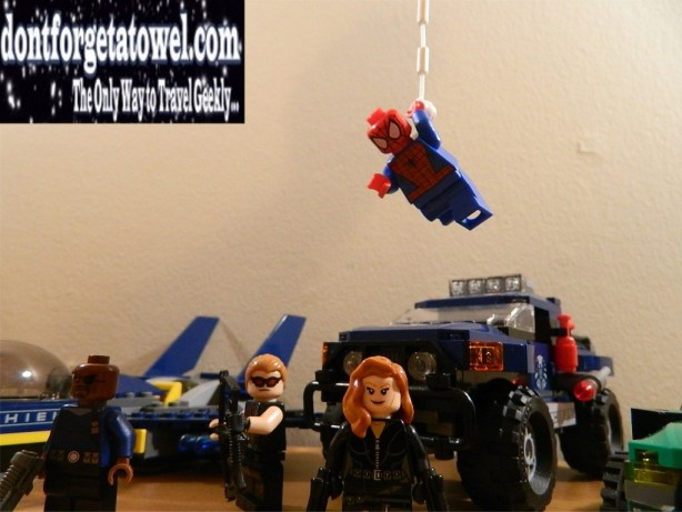 LEGO Spider-Man Spider-Cycle Chase 08
