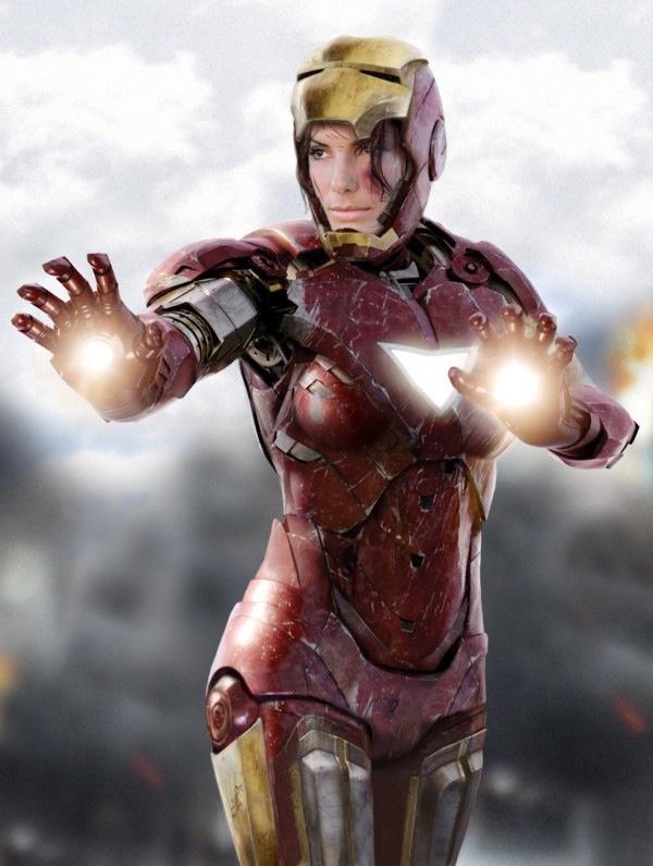 sandra Bullock Iron Man