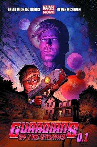gaurdians of the galaxy .1 cover