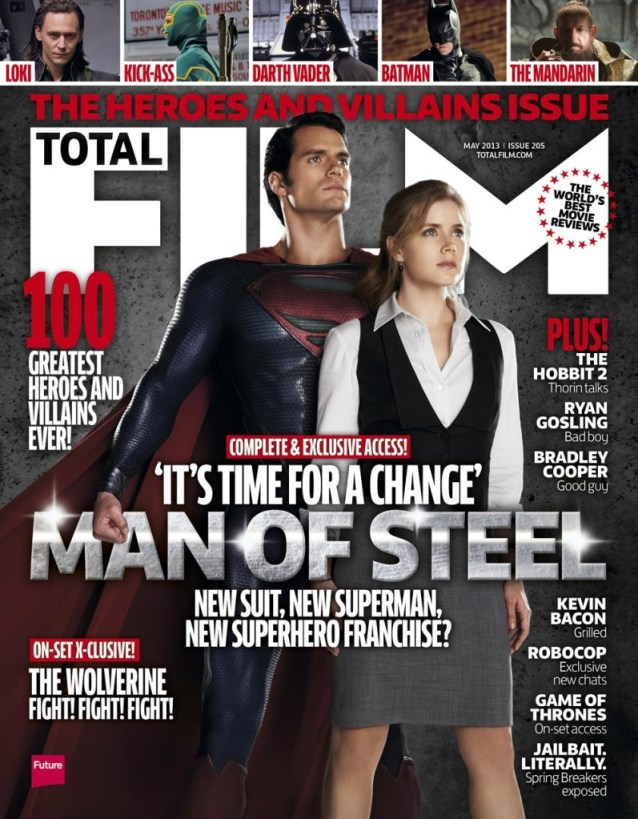 Man of Steel Total Film