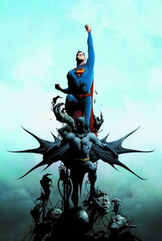 Batman Superman 1 cover