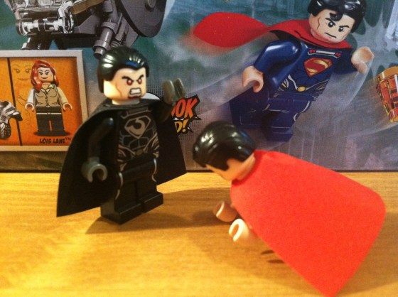kneel before zod Lego man of steel