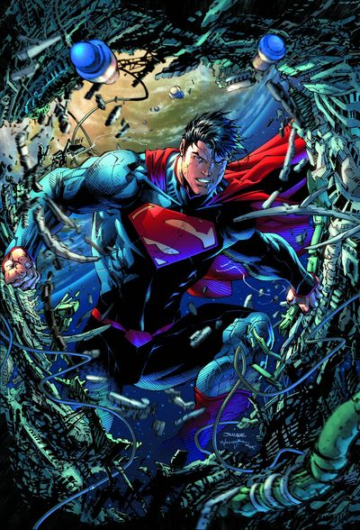 superman unchained 1 cover