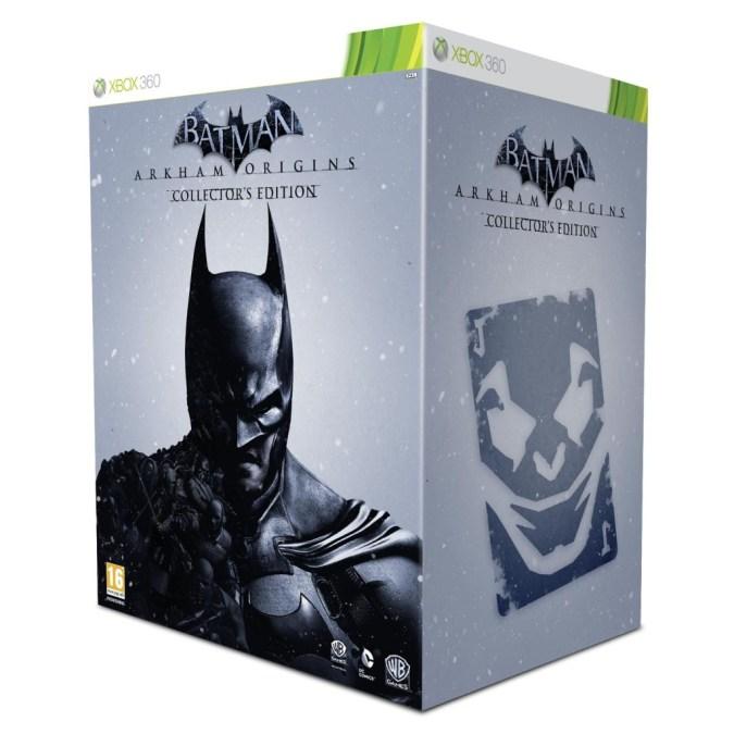 Batman Arkham Origins Xbox 360 UK Collectors Edition box art