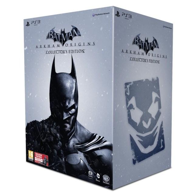 Batman Arkham Origins UK Collectors Edition PS3 box