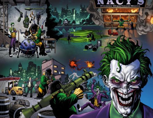 Joker and Jackanapes DC Comics villains month