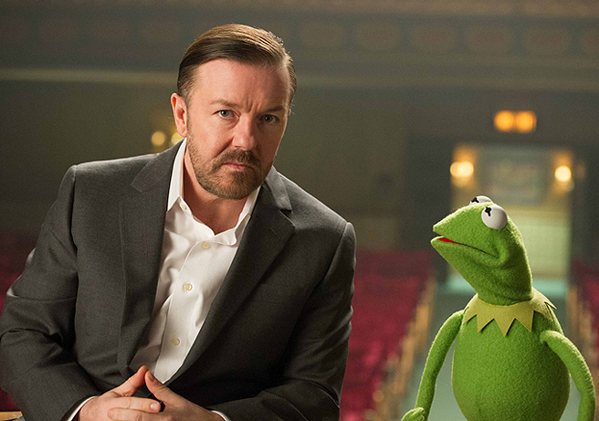 ricky-gervais-kermit-muppets