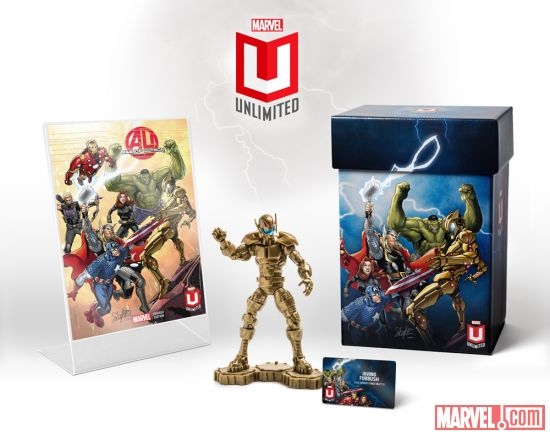 Marvel Unlimited Plus Welcome kit