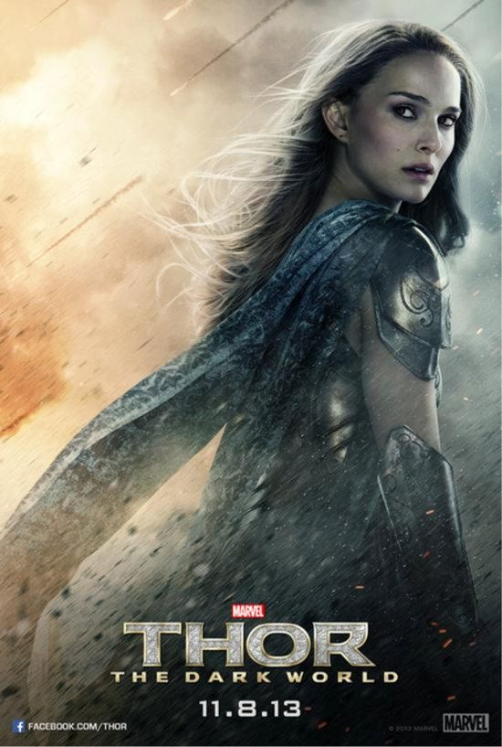 thor dark world jane-foster-poster