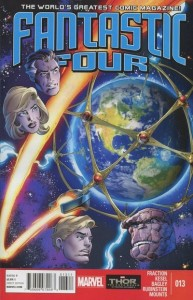 Fantastic Four 13 cover