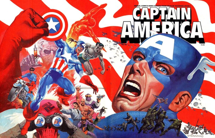 Jim Steranko Captain America